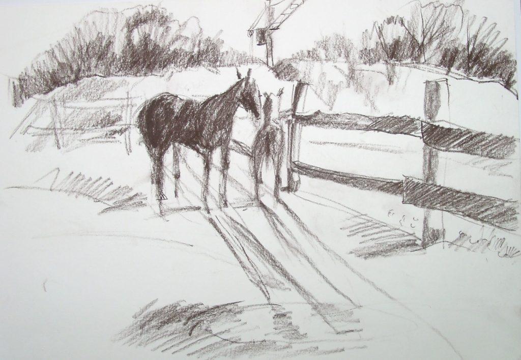 Ходят кони