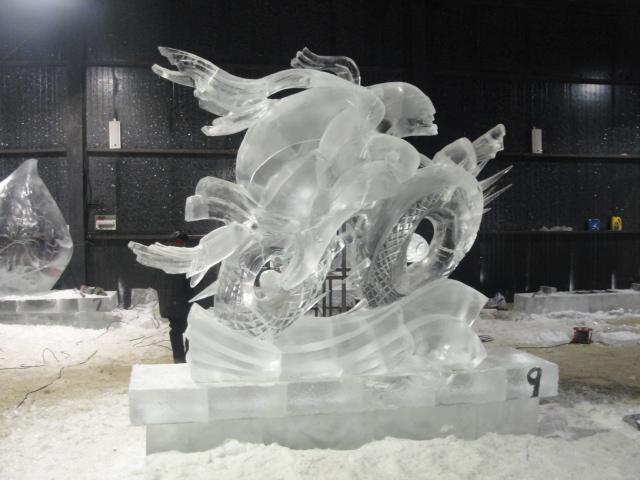 Ледовый гонщик. 200-200-80. лед. 2013 г.