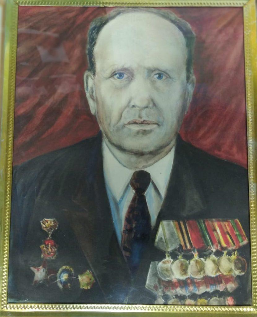 БатяПортрет участника ВОВ 1941-1945г.г