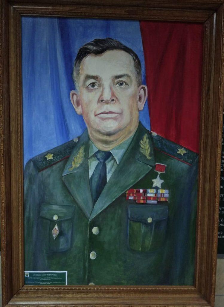 Портрет Маршала Победы Рокоссовского К. К.